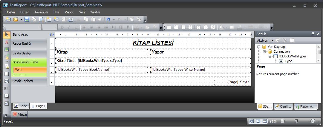 FastReport.Net Kullanımı Resim_2